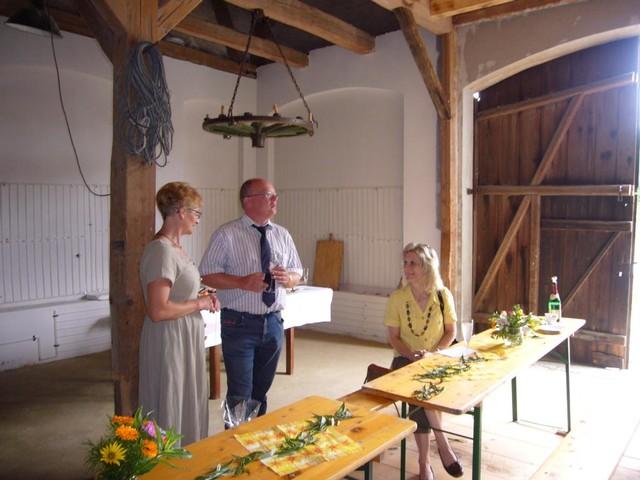 Eröffnungsfeier der Scheunen-Oase