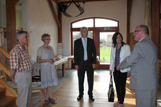 Besuch des sächsischen Ministerpräsidenten